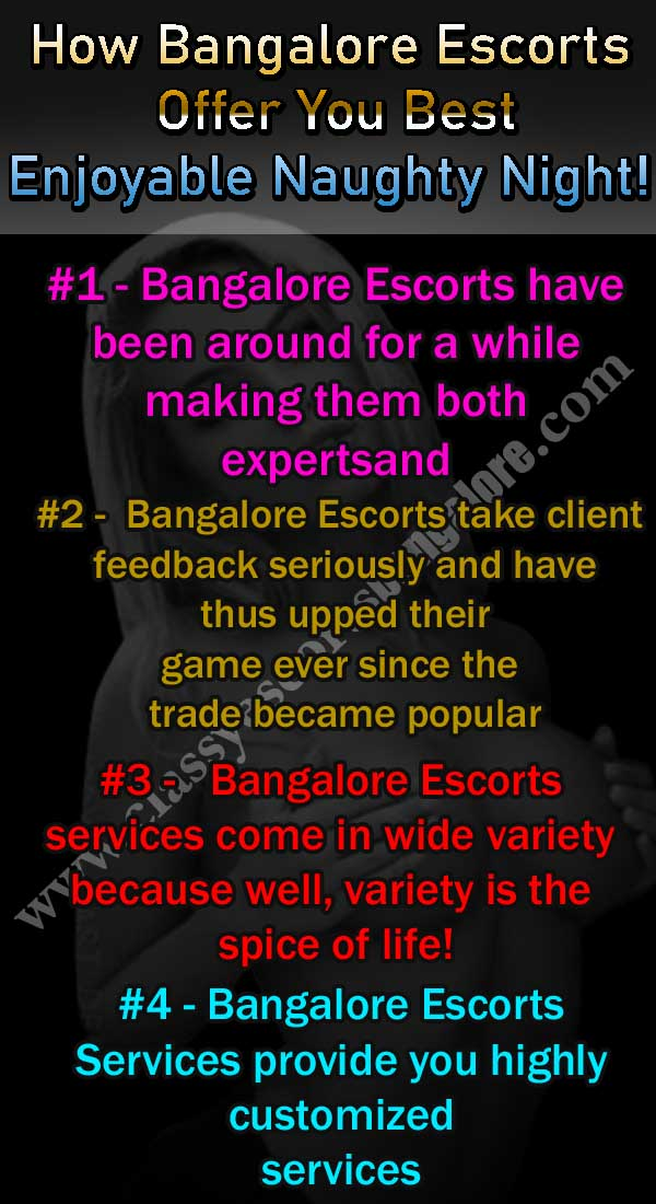 How Bangalore Escorts Offer
