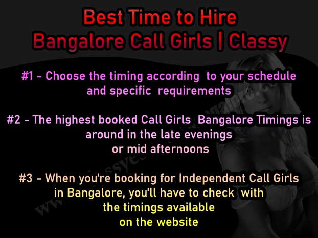 Time to Hire Bangalore Call Girls